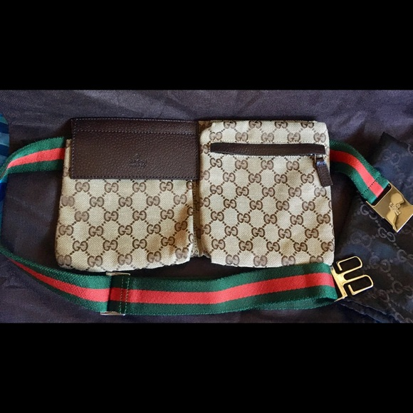 8e458f85f577fa Gucci Handbags - 💯 Authentic & Vintage Gucci Fanny pack